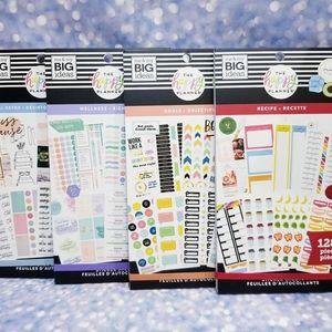 4 Sticker Book Set The Happy Planner New